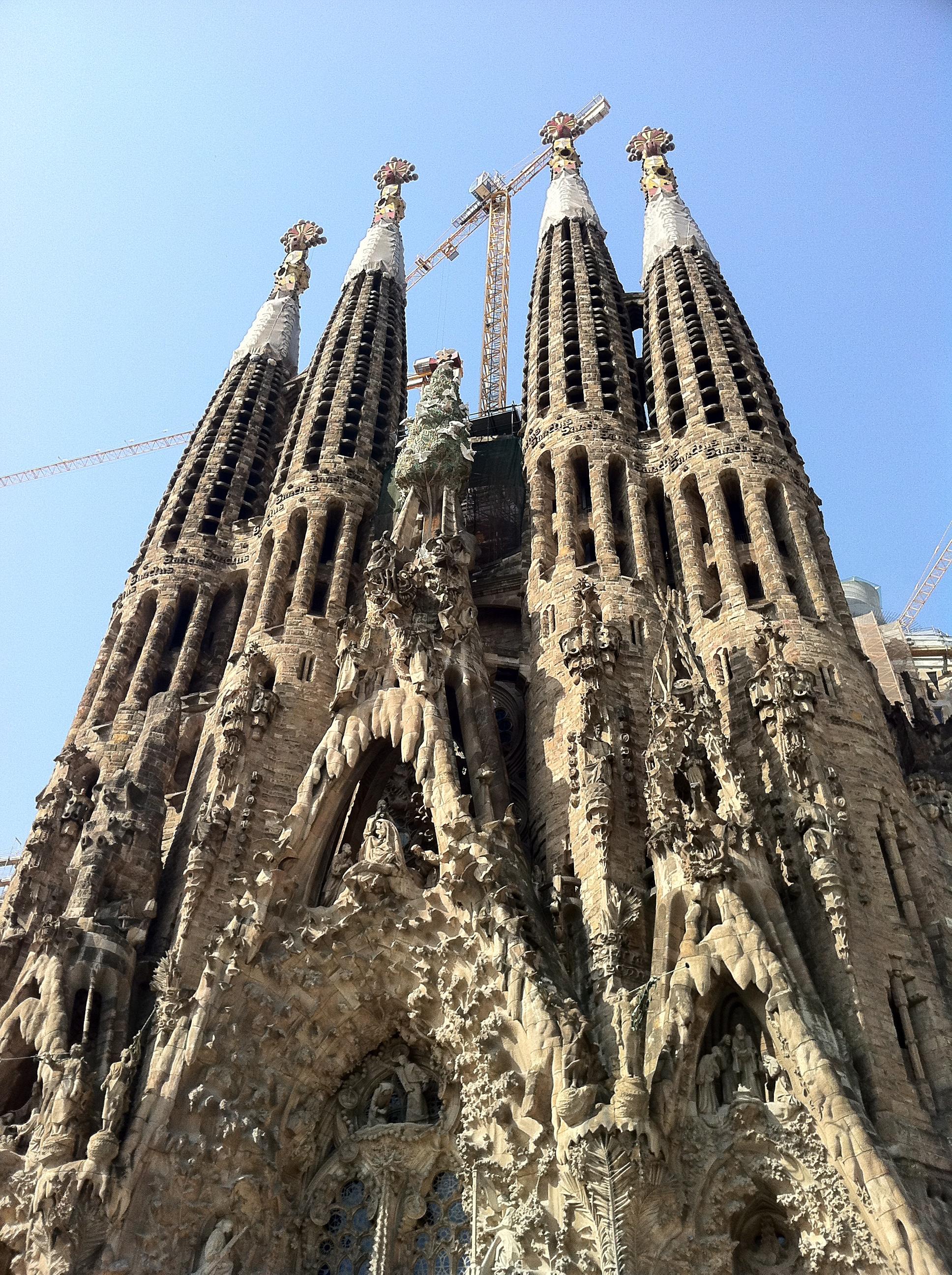 "alt=""Städtetrip Barcelona, La sagrada familia"""