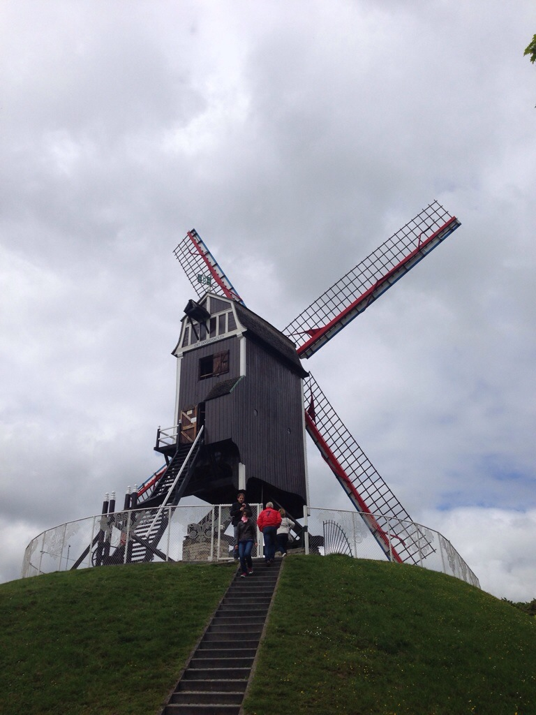 "alt=""Windmühle in Brügge"""