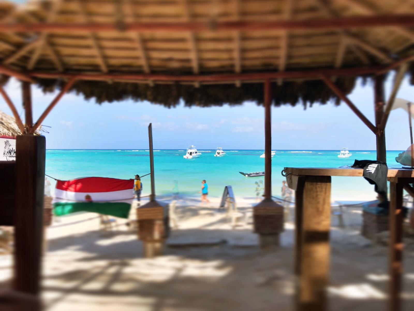 Punta Cana - Bar von Einheimischen
