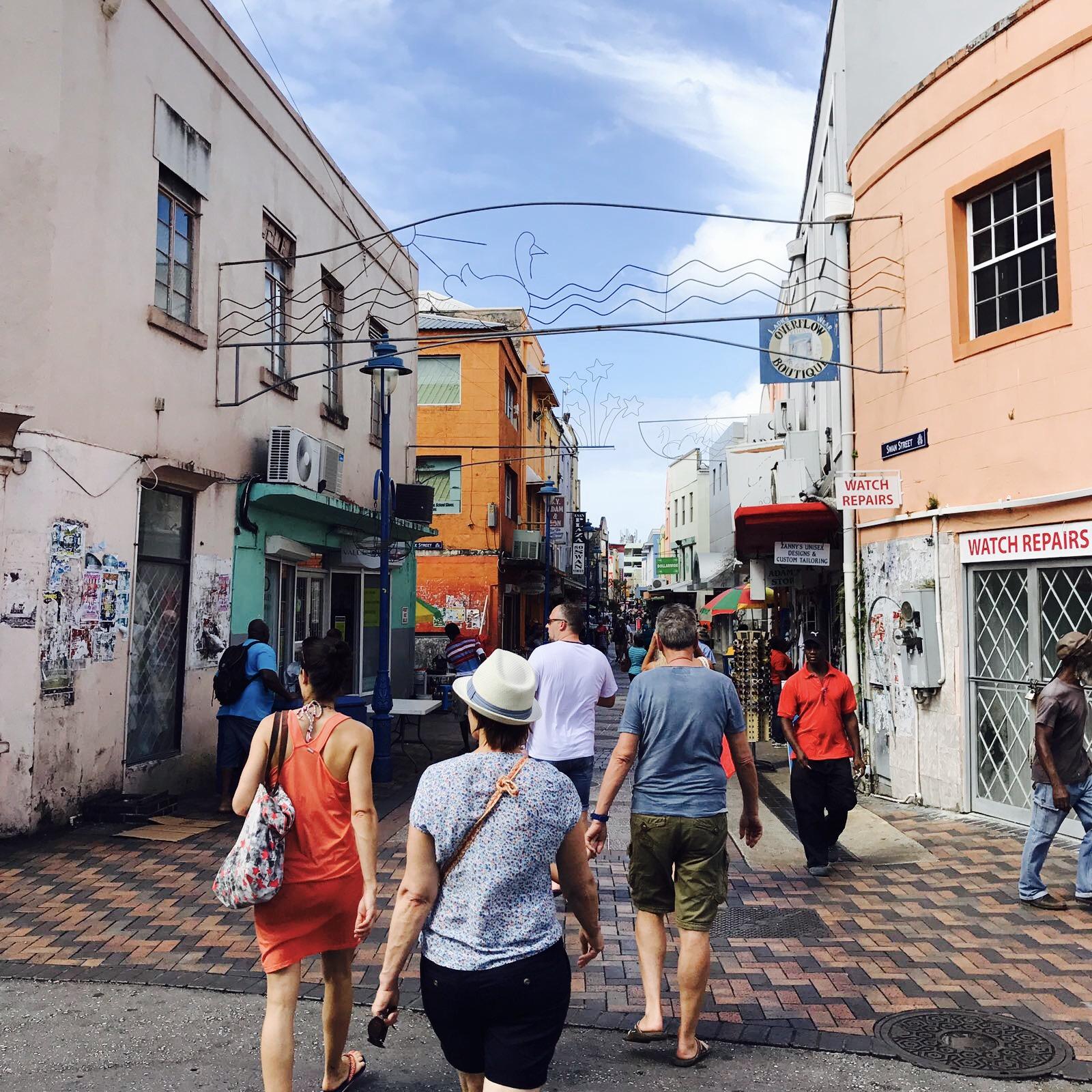 Innenstadt Bridgetown, Barbados
