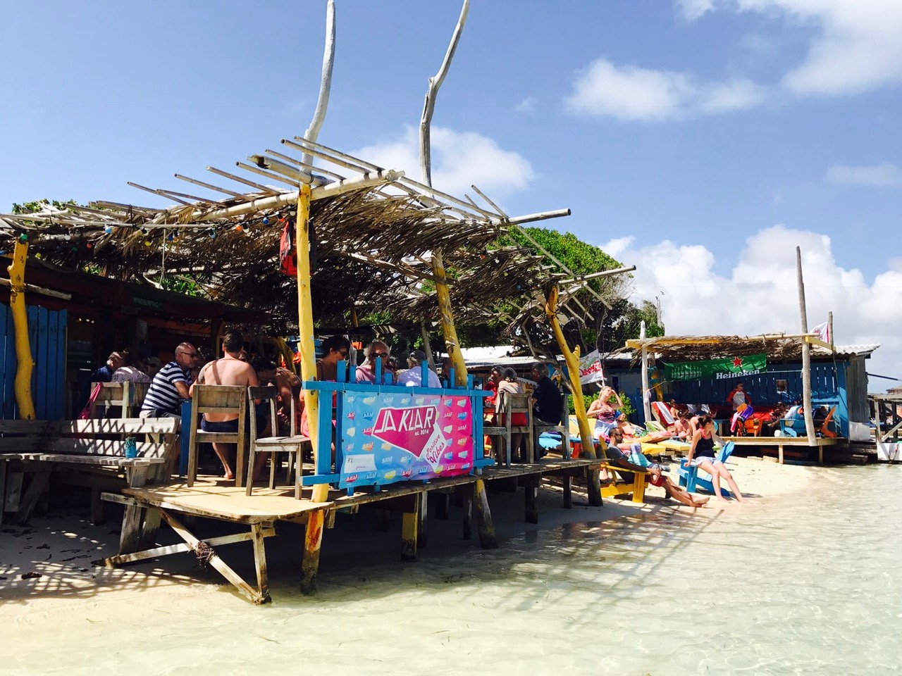 Beach Bars, Sorobon Beach, Bonaire