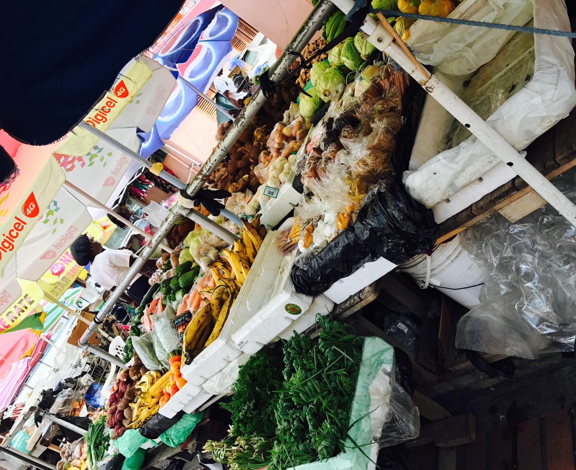 Markt in St. George's, Grenada