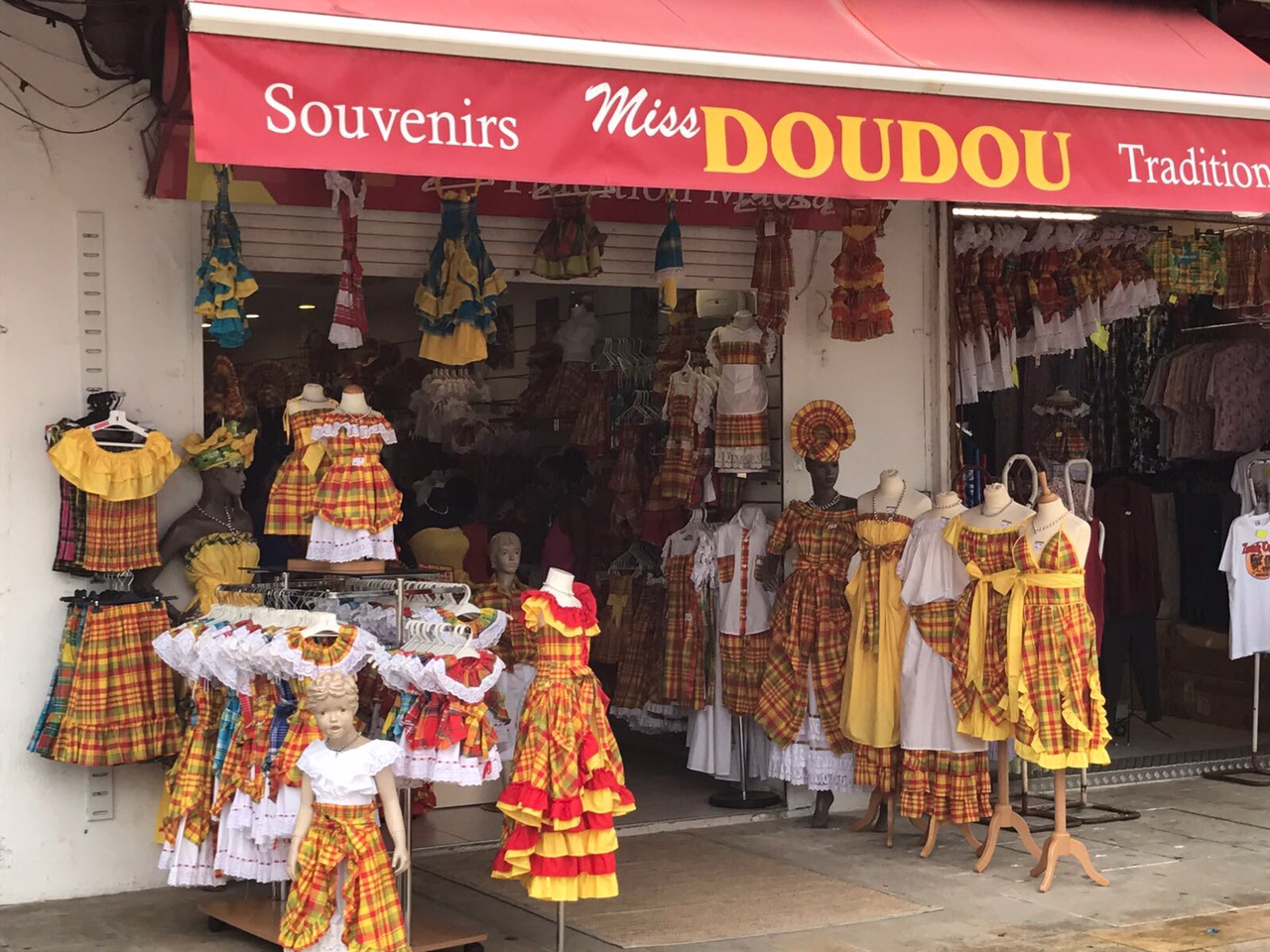 Souvenirladen in Guadeloupe