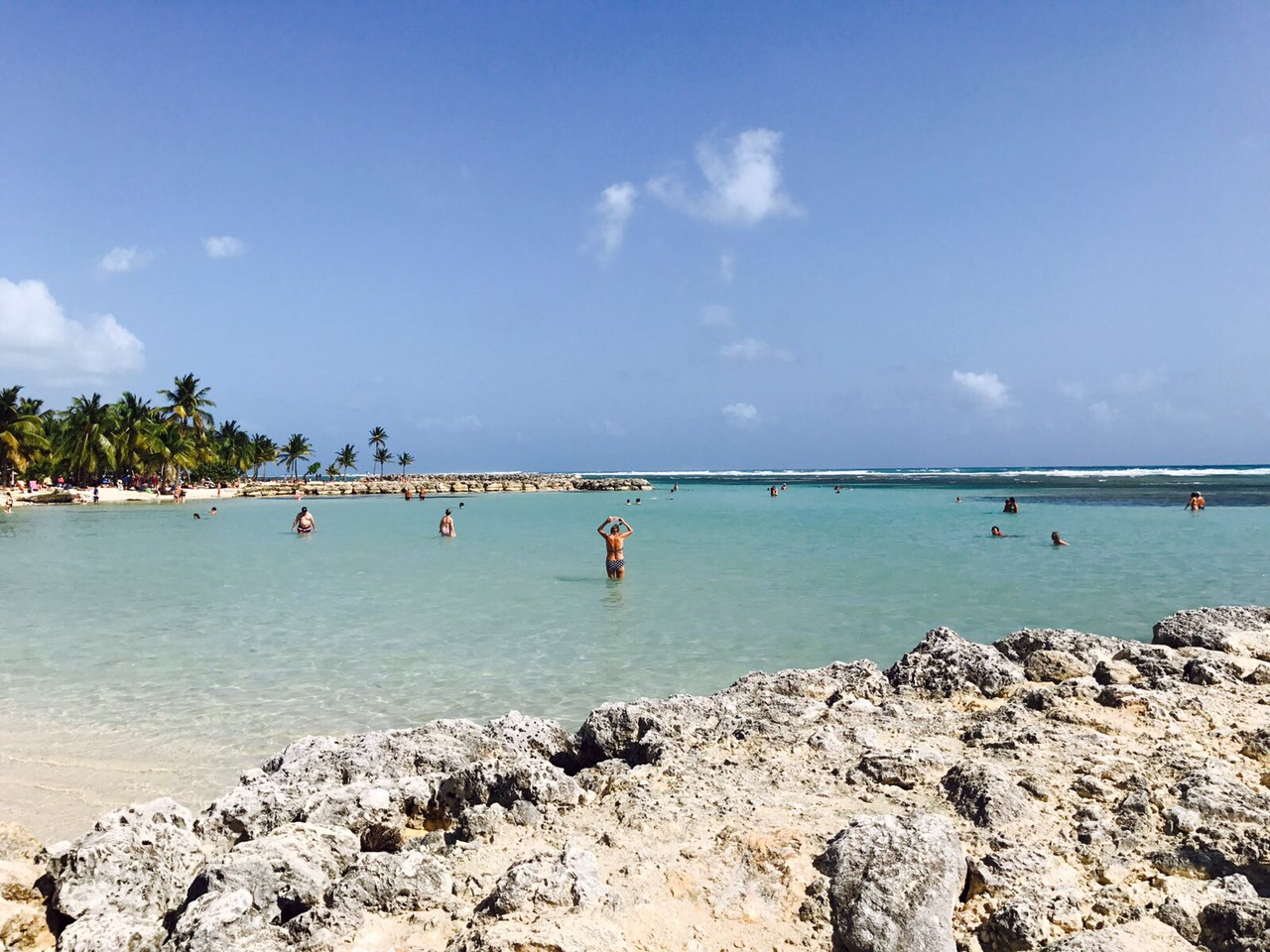 Strand bei St. Anne, Guadeloupe