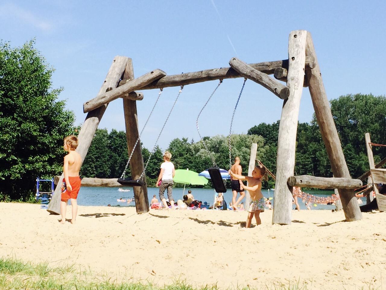 Spielplatz im Strandbad Alberssee