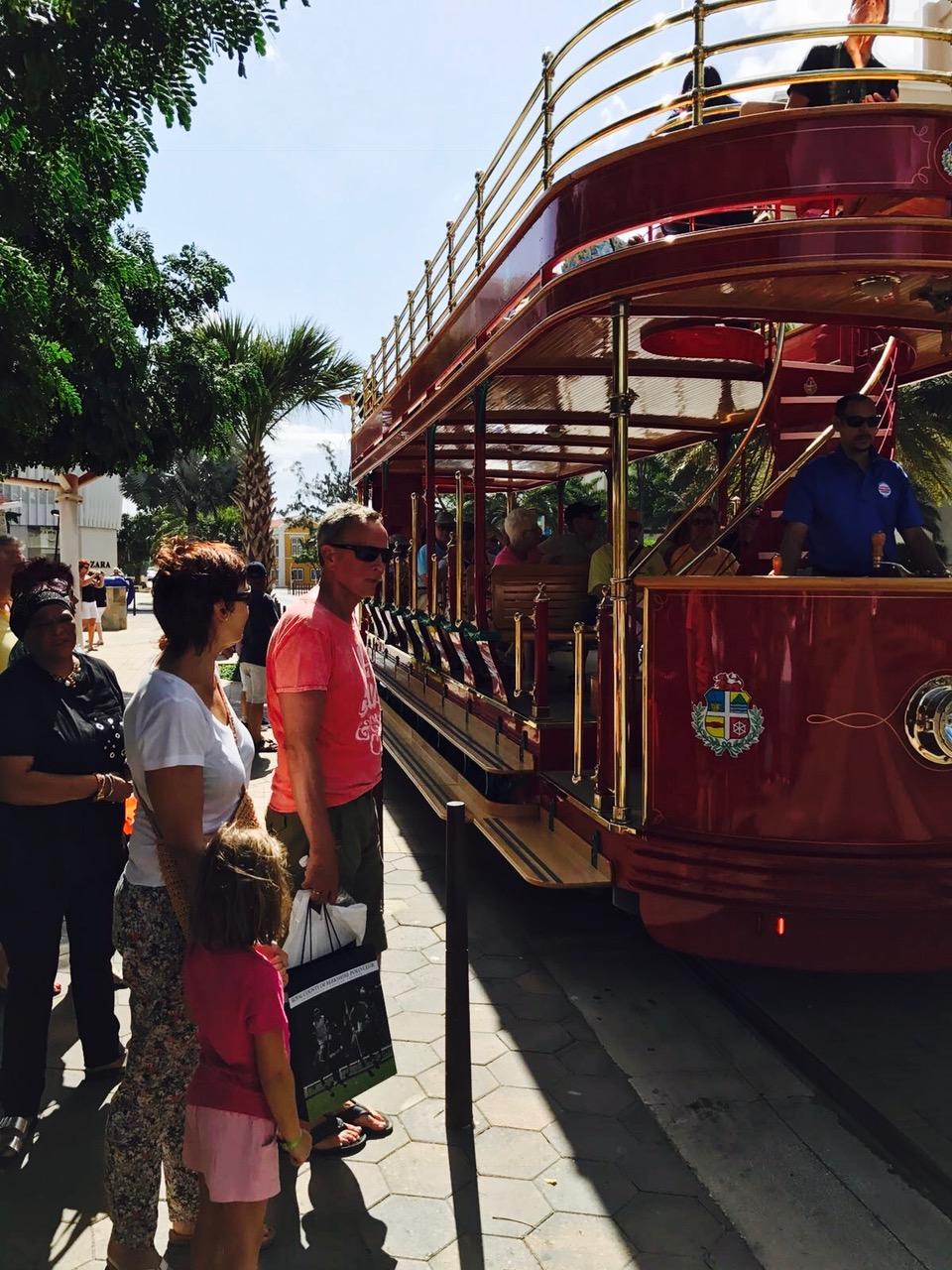Historische Stadtbahn, Oranjestad, Aruba