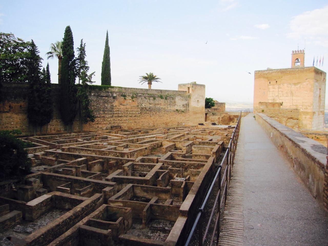 Alhambra, Zitadelle, Granada, Andalusien