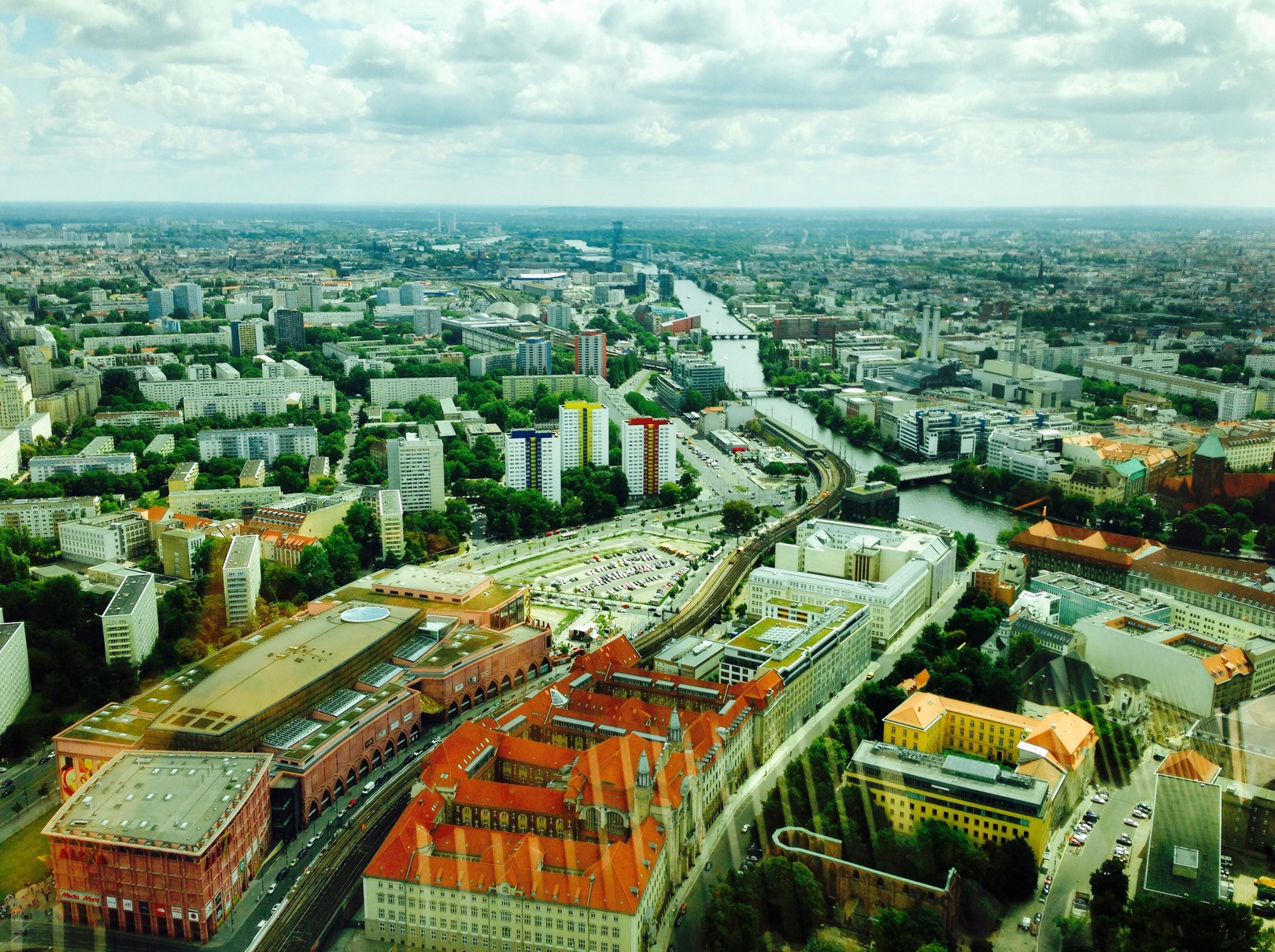 Aussicht vom Fernsehturm, Berlin