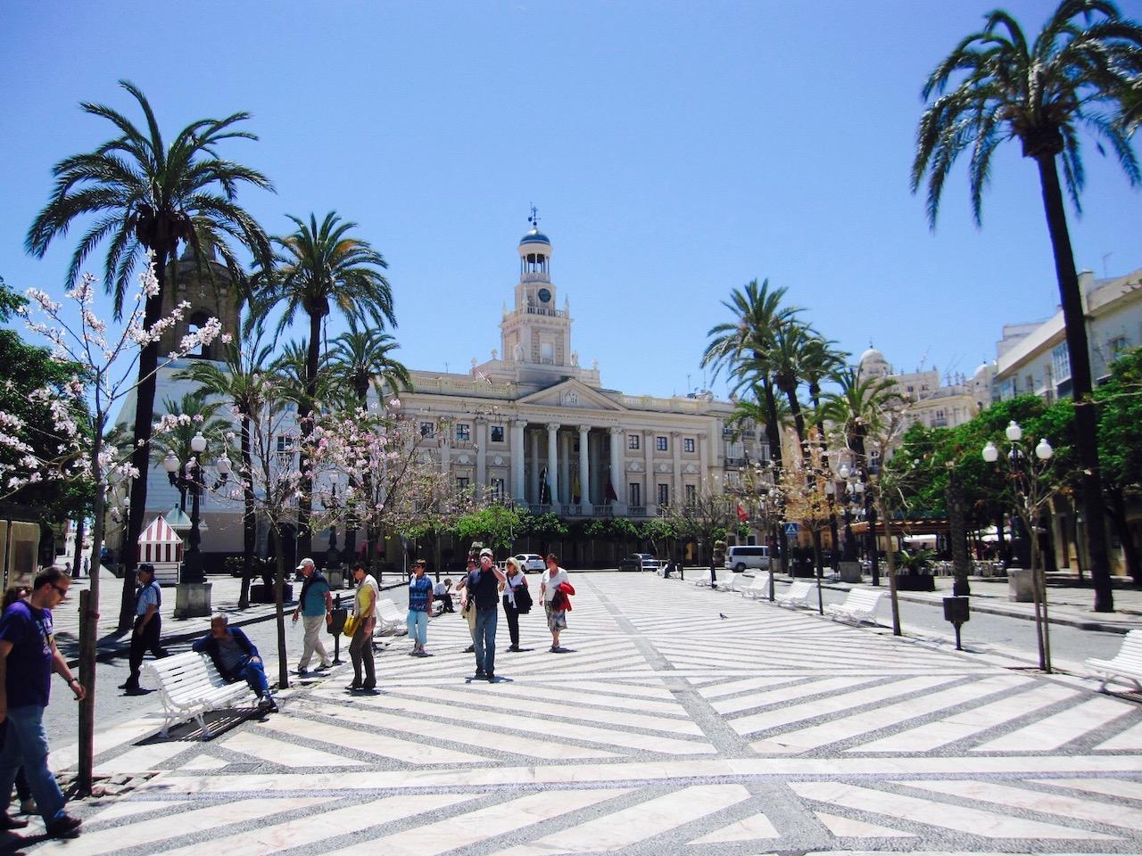 Cádiz, Innenstadt