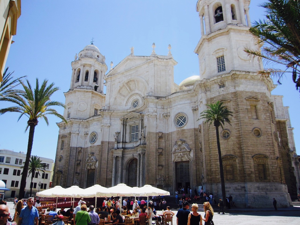 Kathedrale in Cádiz, Andalusien