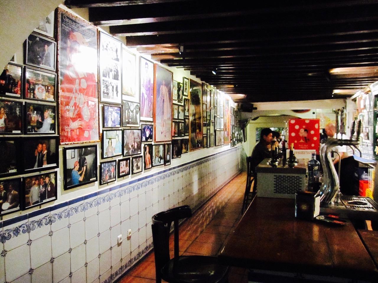 Bodega Bar El Pimpi, Malaga, Andalusien