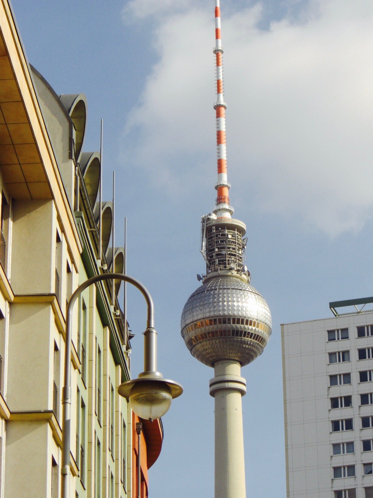 Blick auf den Fernsehturm, Berlin