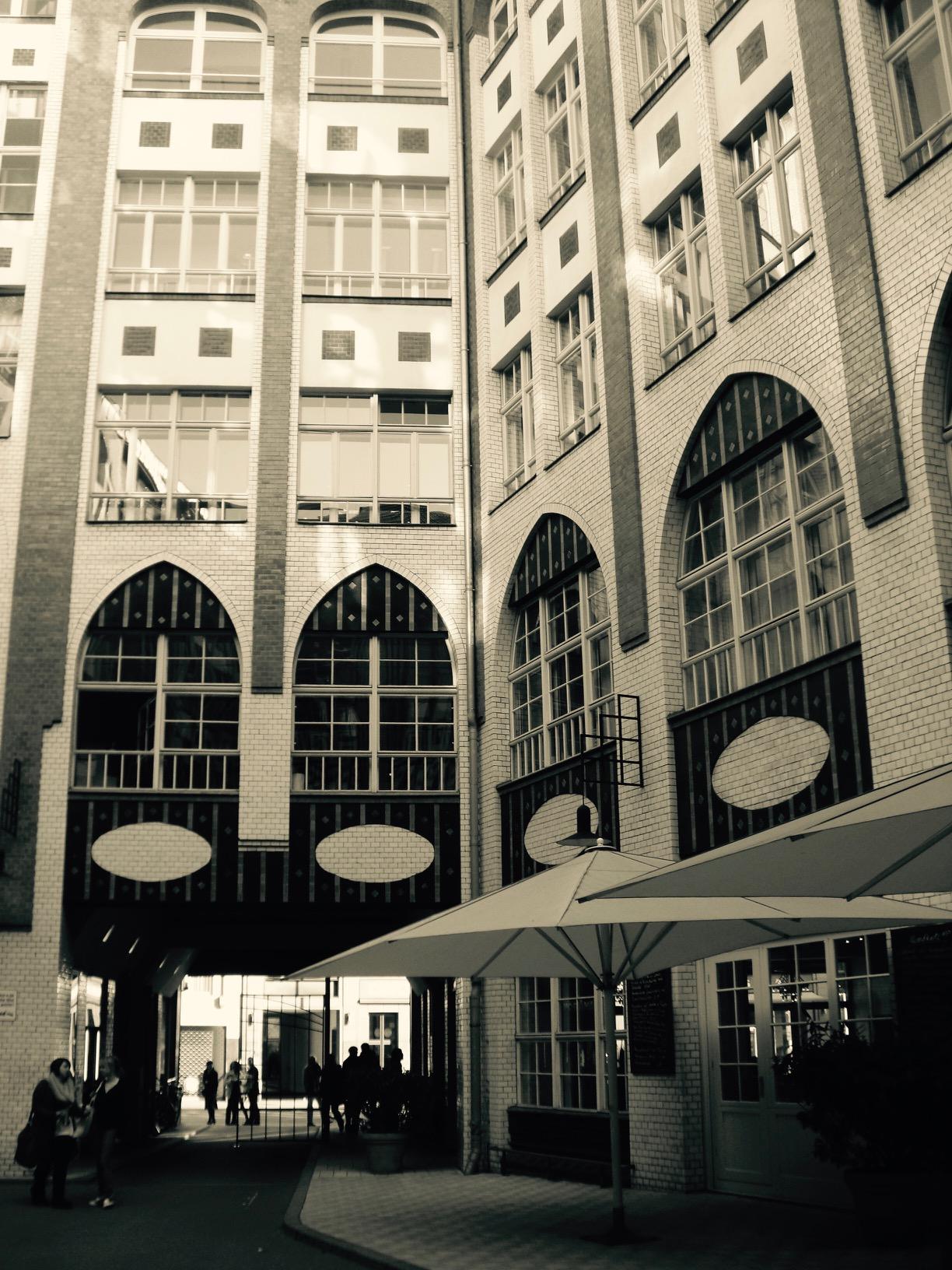Blick in die Hackeschen Höfe, Berlin