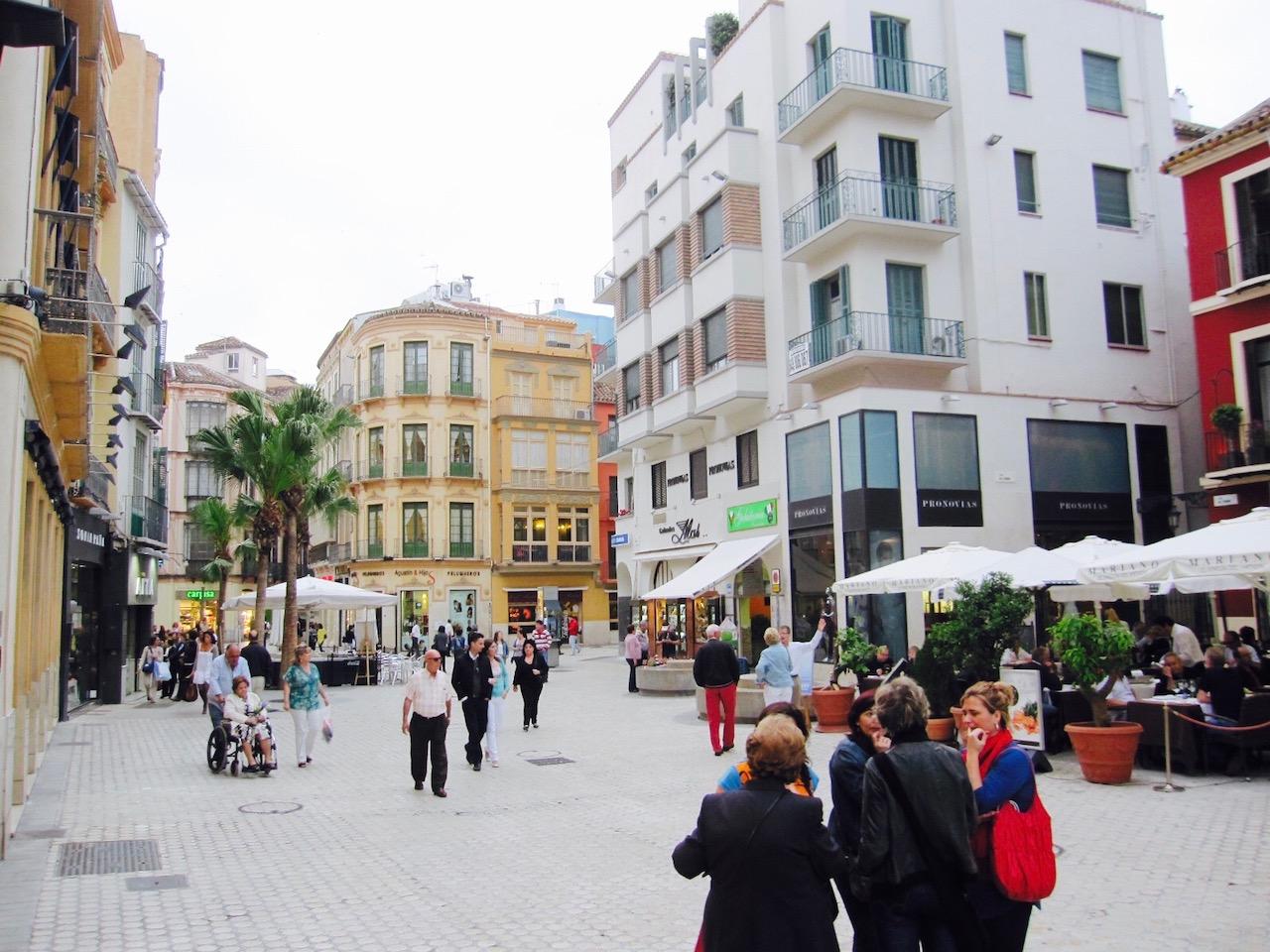 Altstadt Malaga, Andalusien