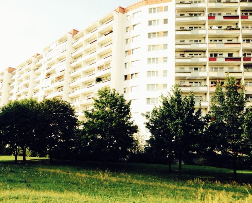 Plattenbau in Berlin-Marzahn