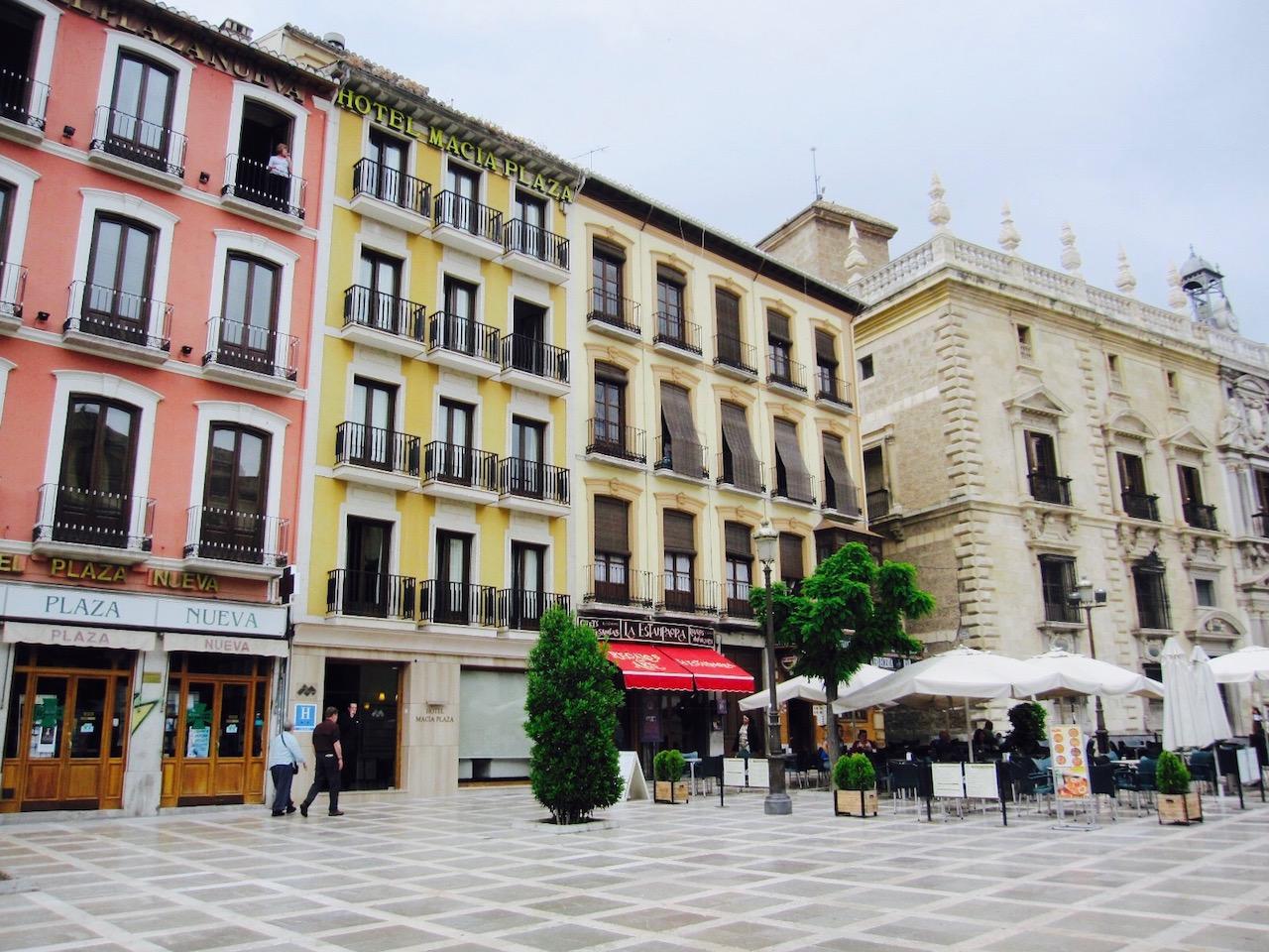 Hotel Macia Plaza am Plaza Nueve, Granada, Andalusien