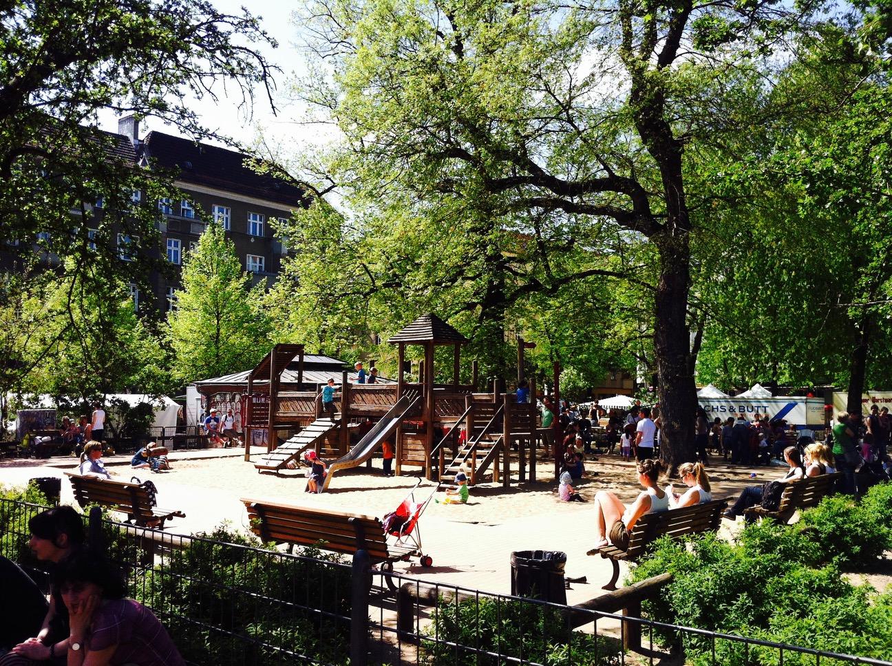 Spielplatz am Boxhagener Platz
