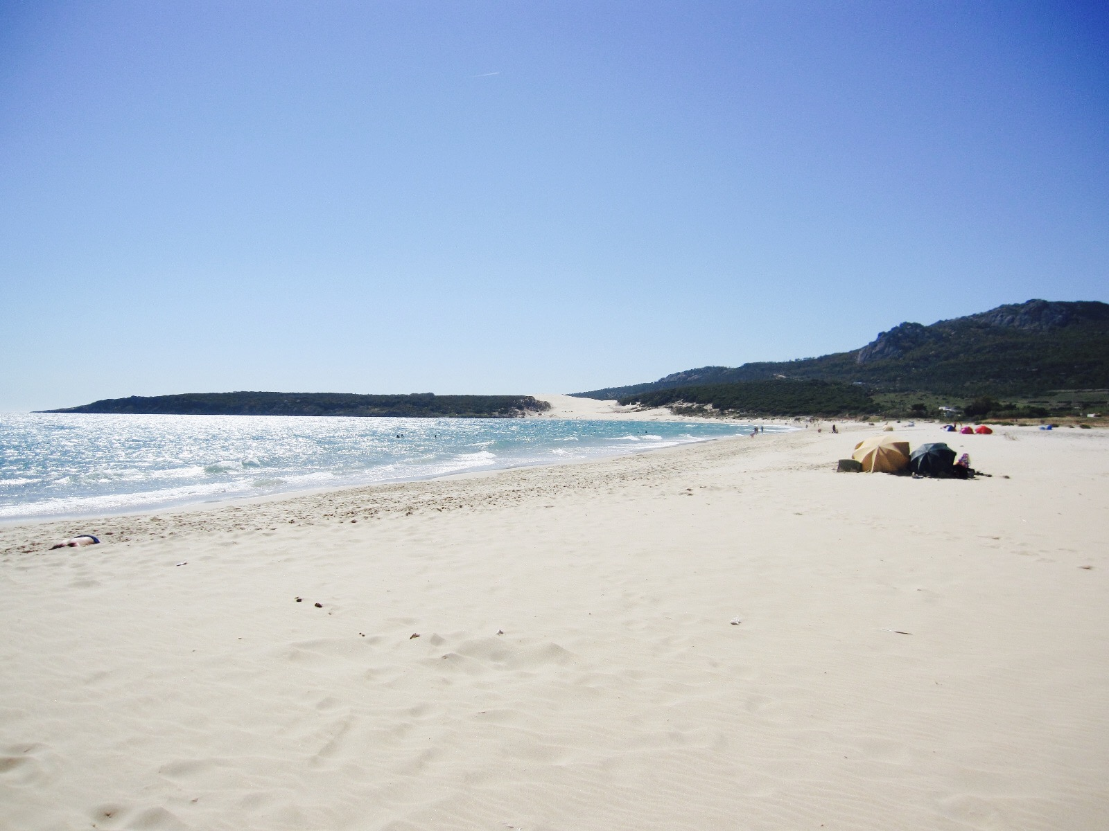 Strand in Tarifa, Andalusien