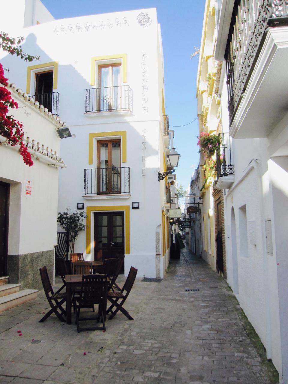 Altstadt Tarifa, Andalusien