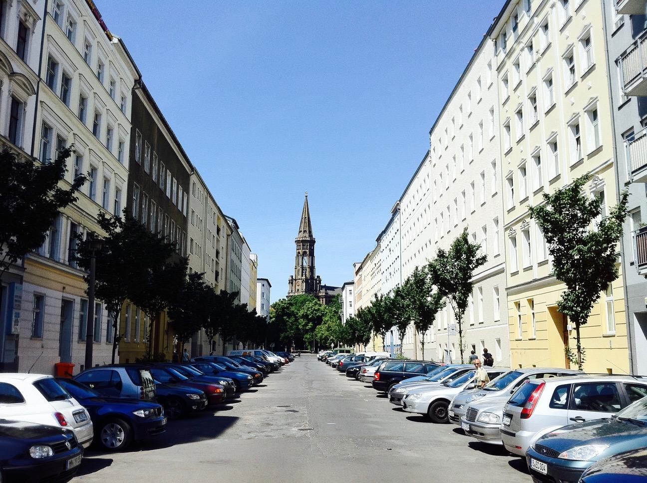 Blick auf die Zionskirche