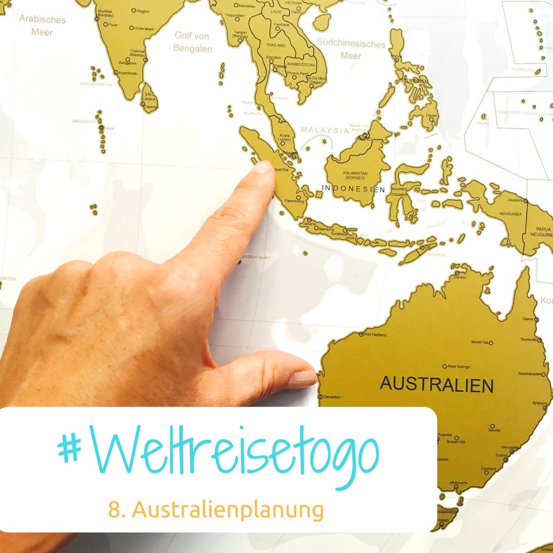 Planung für Australien
