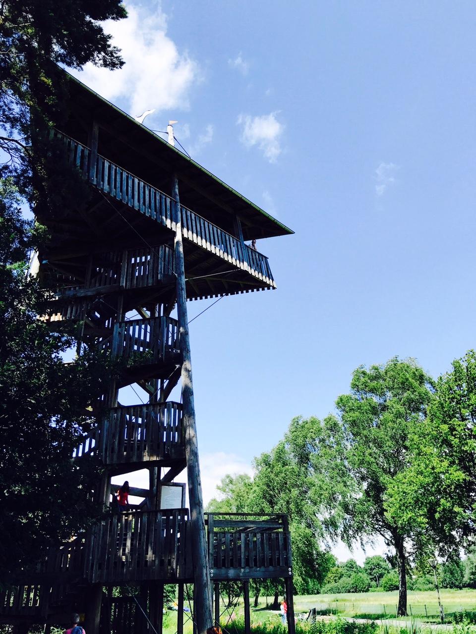 Ausflugstipps NRW, Aussichtsturm im Gartenschaupark Rietberg
