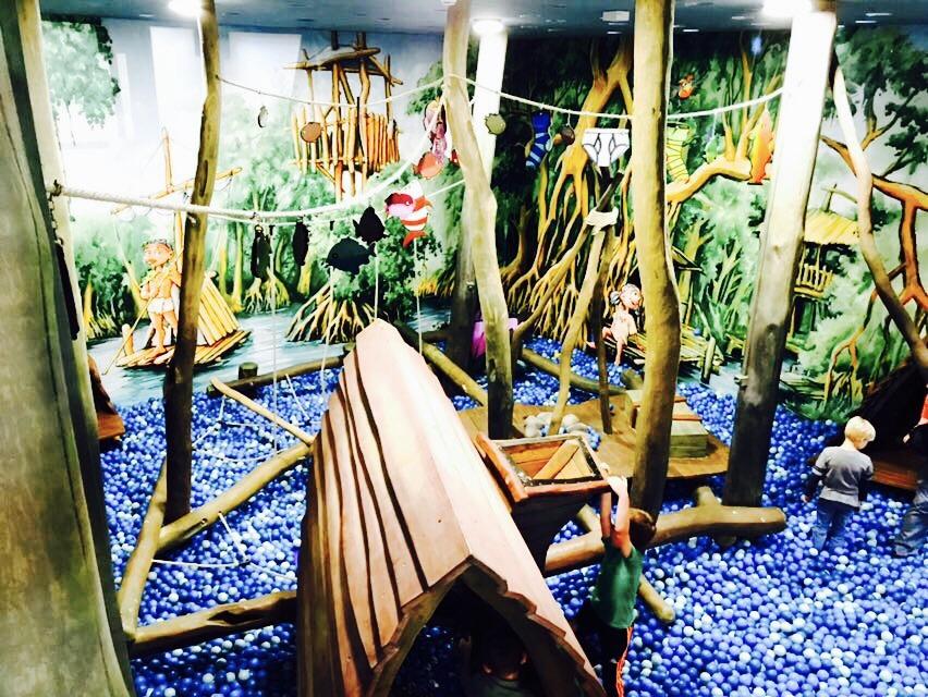 Ausflugstipps NRW, Dschungelbereich in der Indoorhalle im Ketteler Hof in Haltern