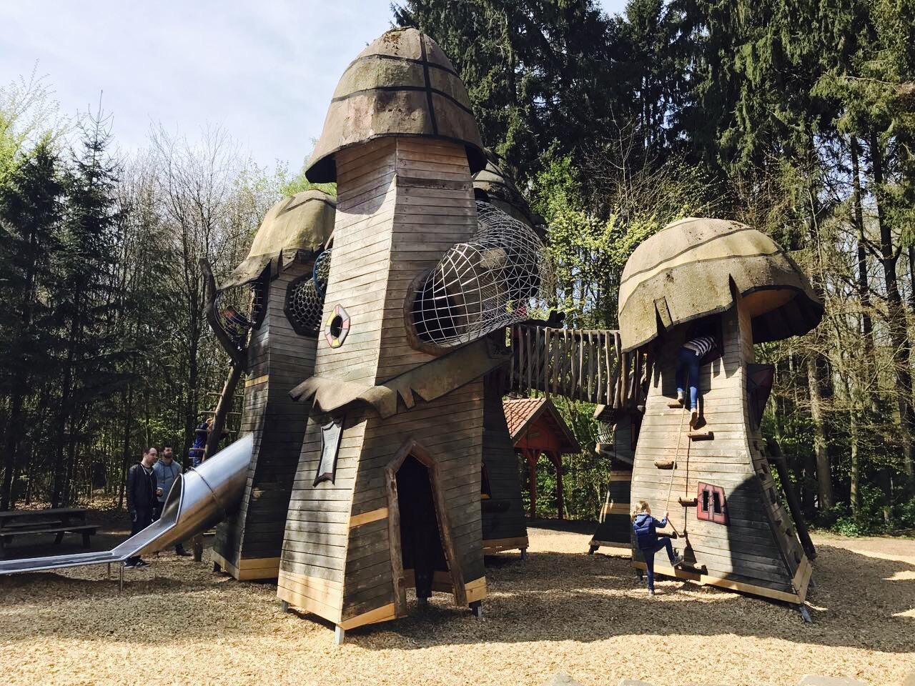 Ausflugstipps NRW, Kletterburg Im Wildpark Frankenhof, Reken