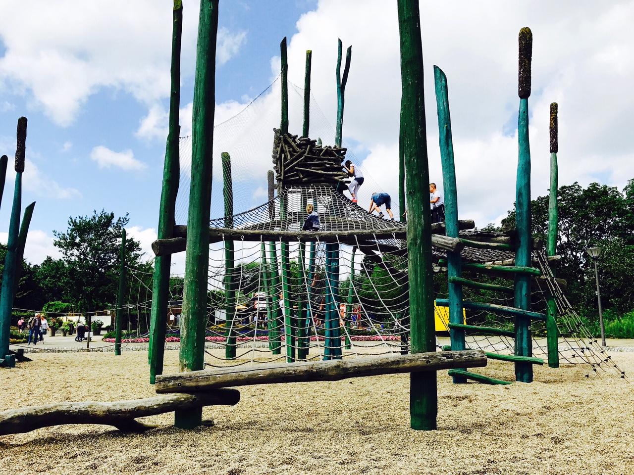 Kletterspielplatz im Gartenschaupark Rietberg