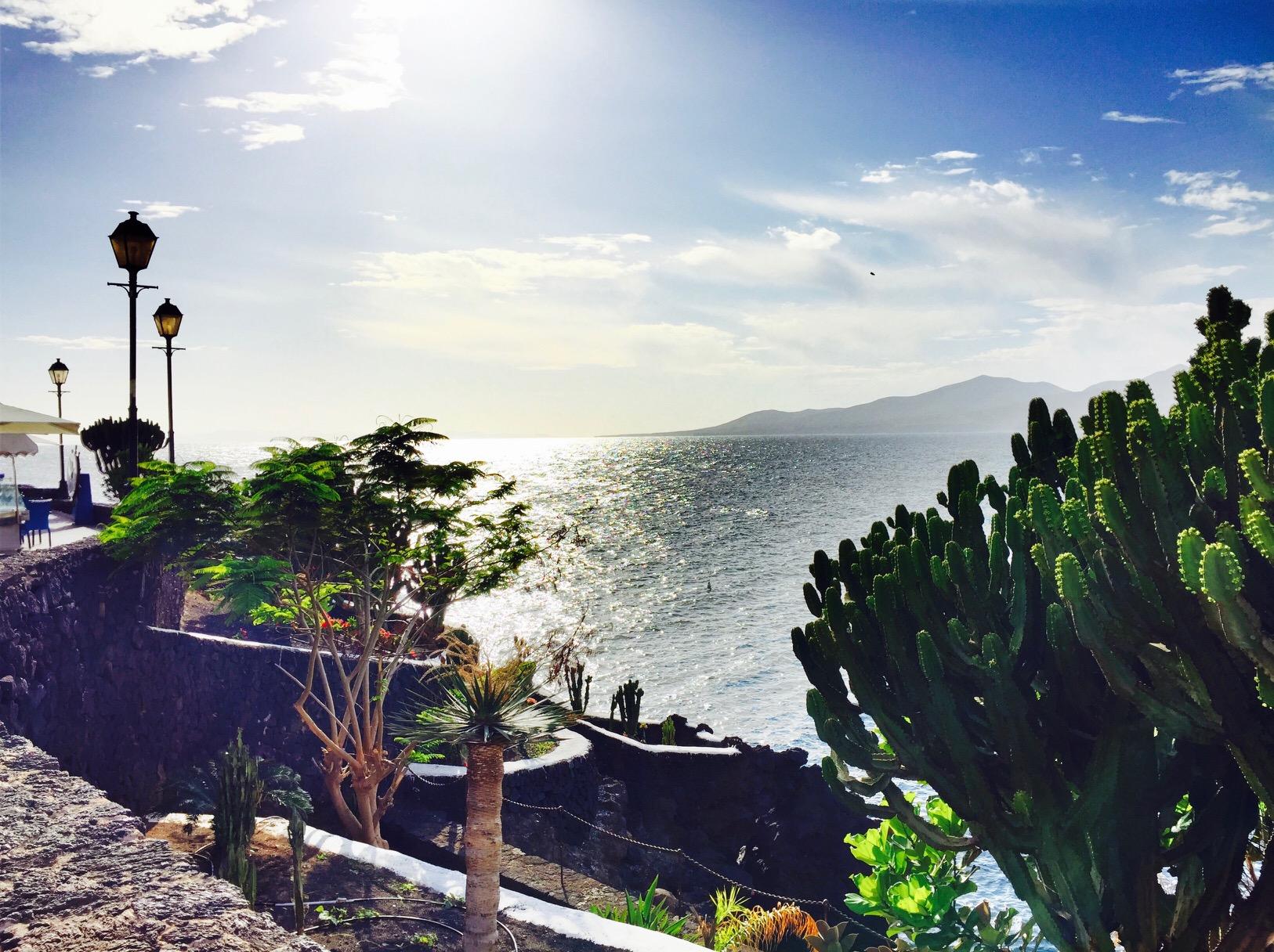 Küste von Puerto del Carmen, Lanzarote