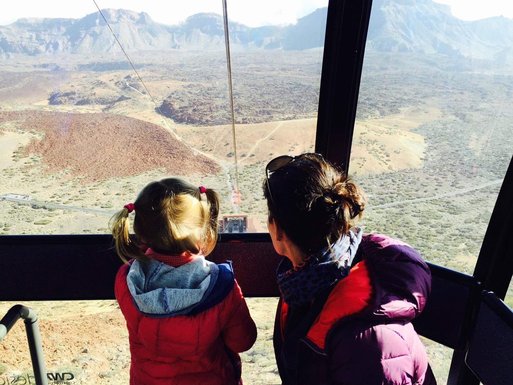 Seilbahnfahrt auf den El Teide auf Teneriffa