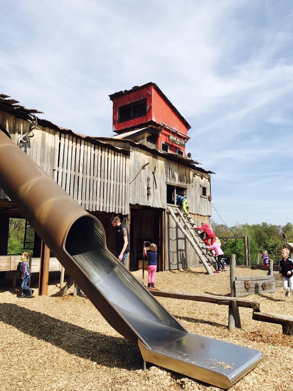 Erlebnisspielplatz im Wildpark Frankenhof