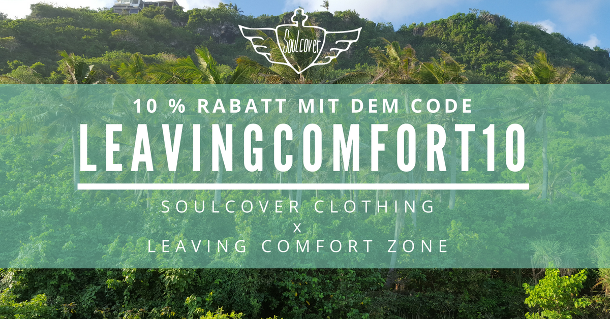 Rabattcode für Soulcover Clothing