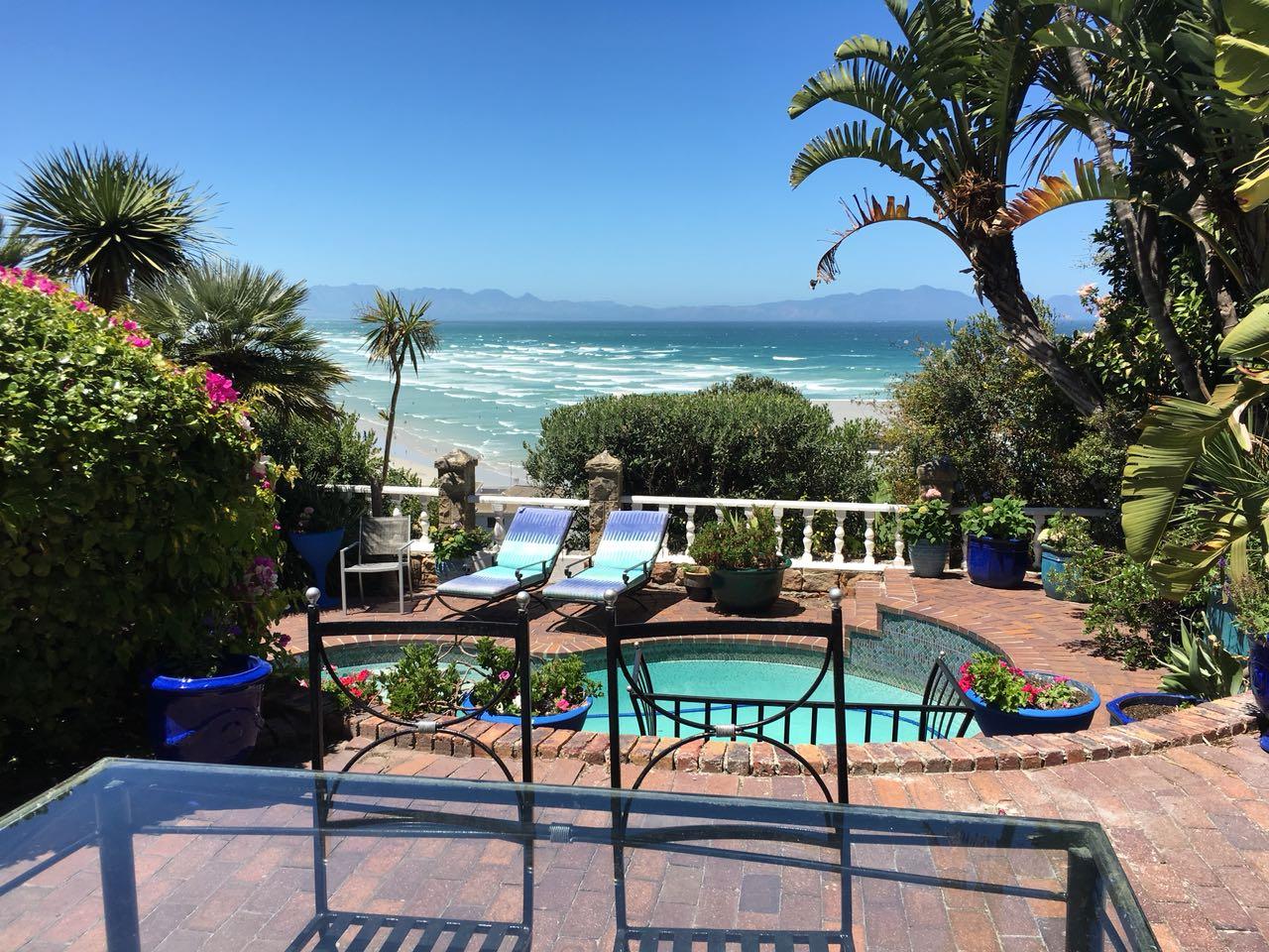 Aussicht von der Unterkunft A heavenly View in Muizeberg bei Kapstadt in Südafrika