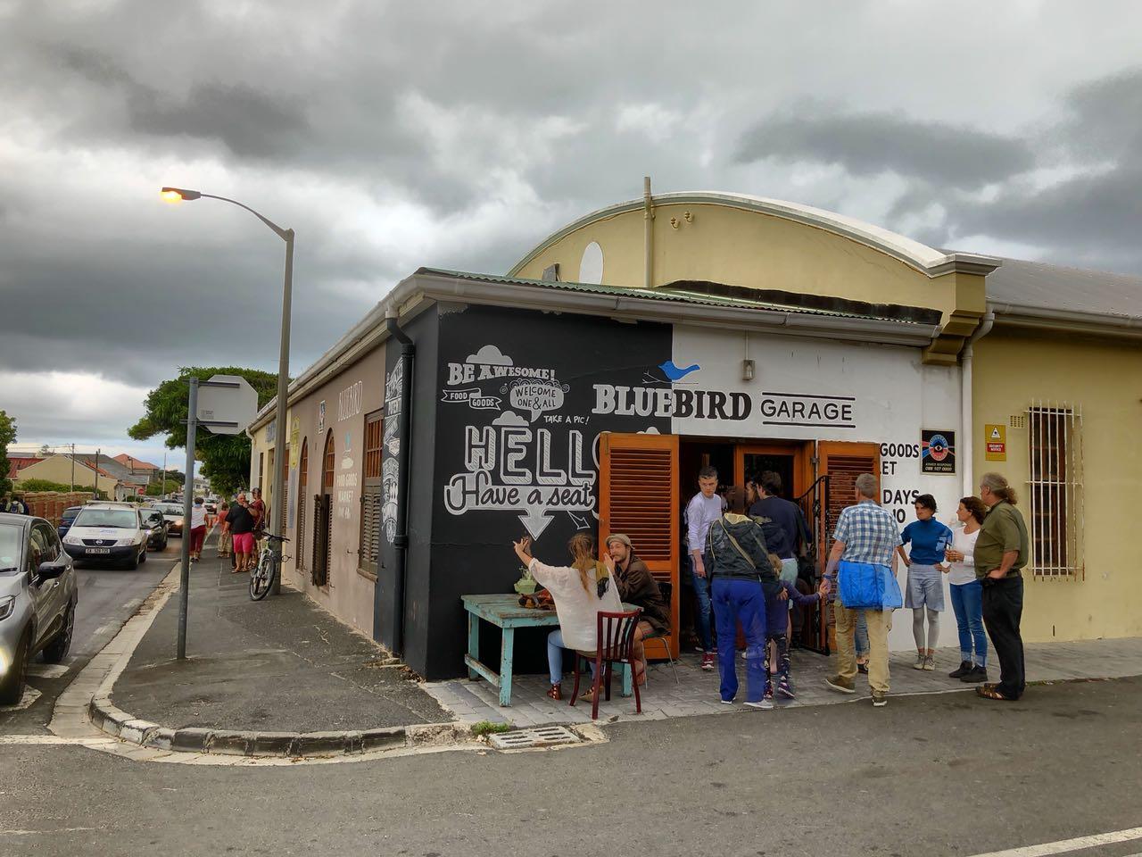 Bluebird Garage, Muizenberg