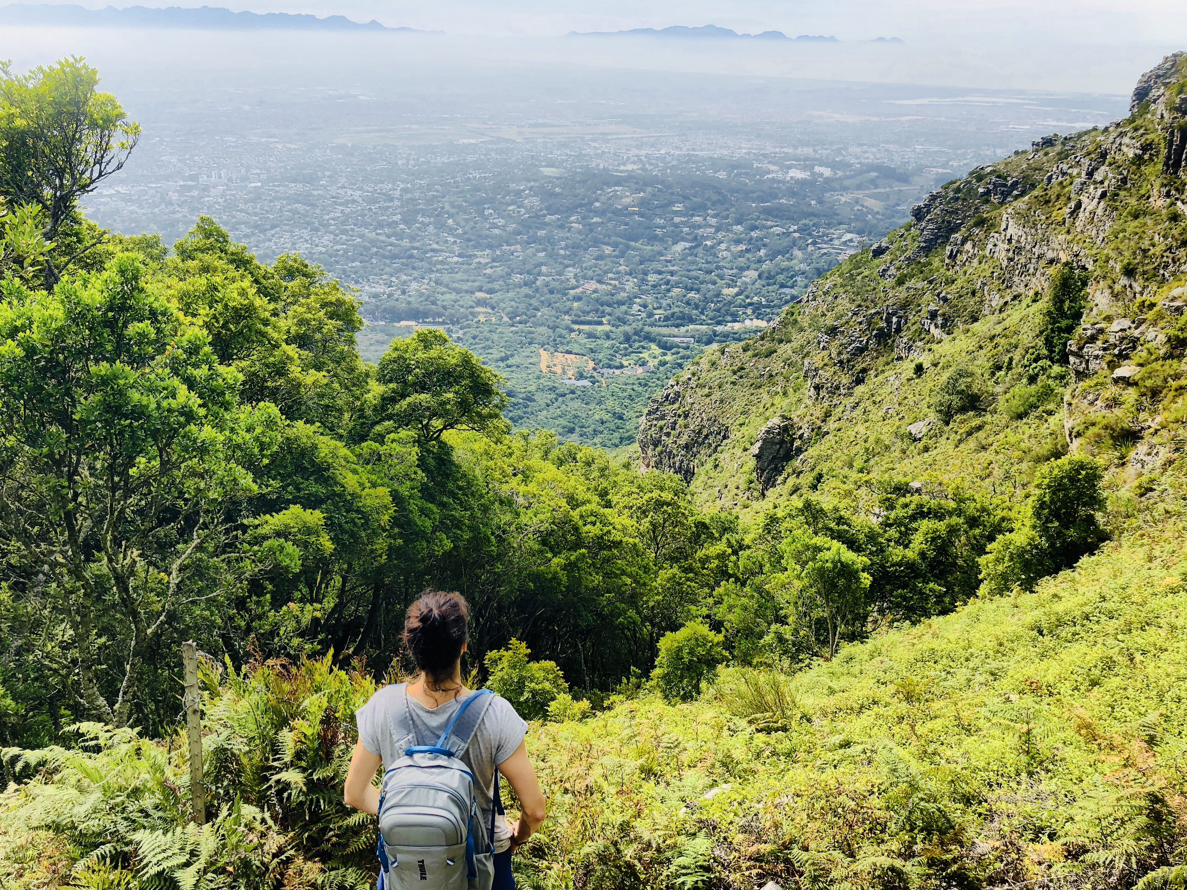 Ausblick vom Skeleton Gorge Trail, Tafelberg