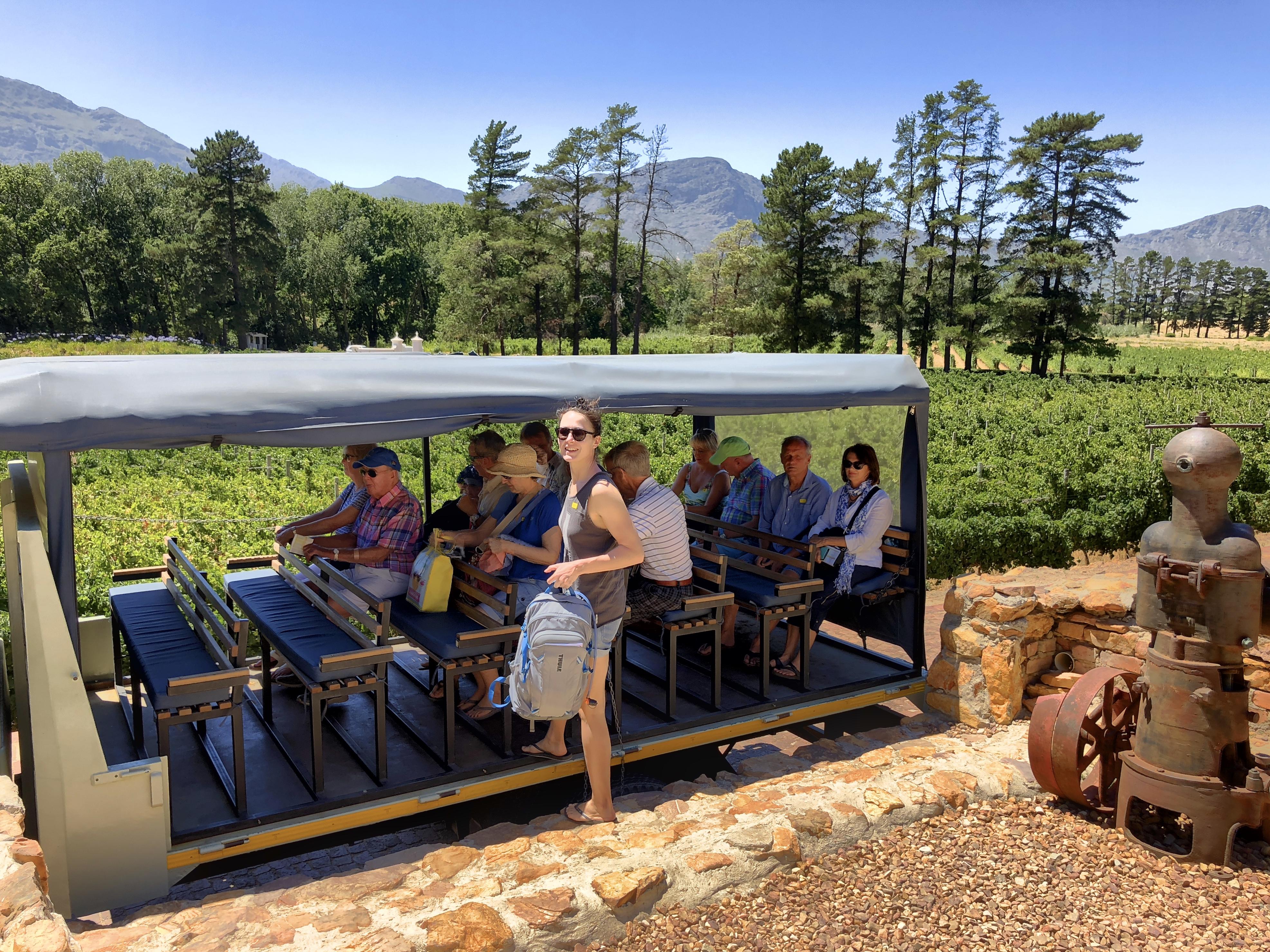 Weintour in Franschhoek