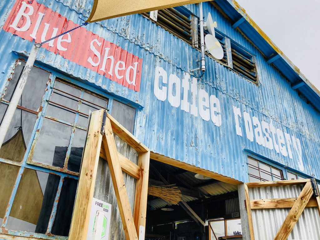 Blue Shed Coffee Roasters, Mossel Bay, Südafrika