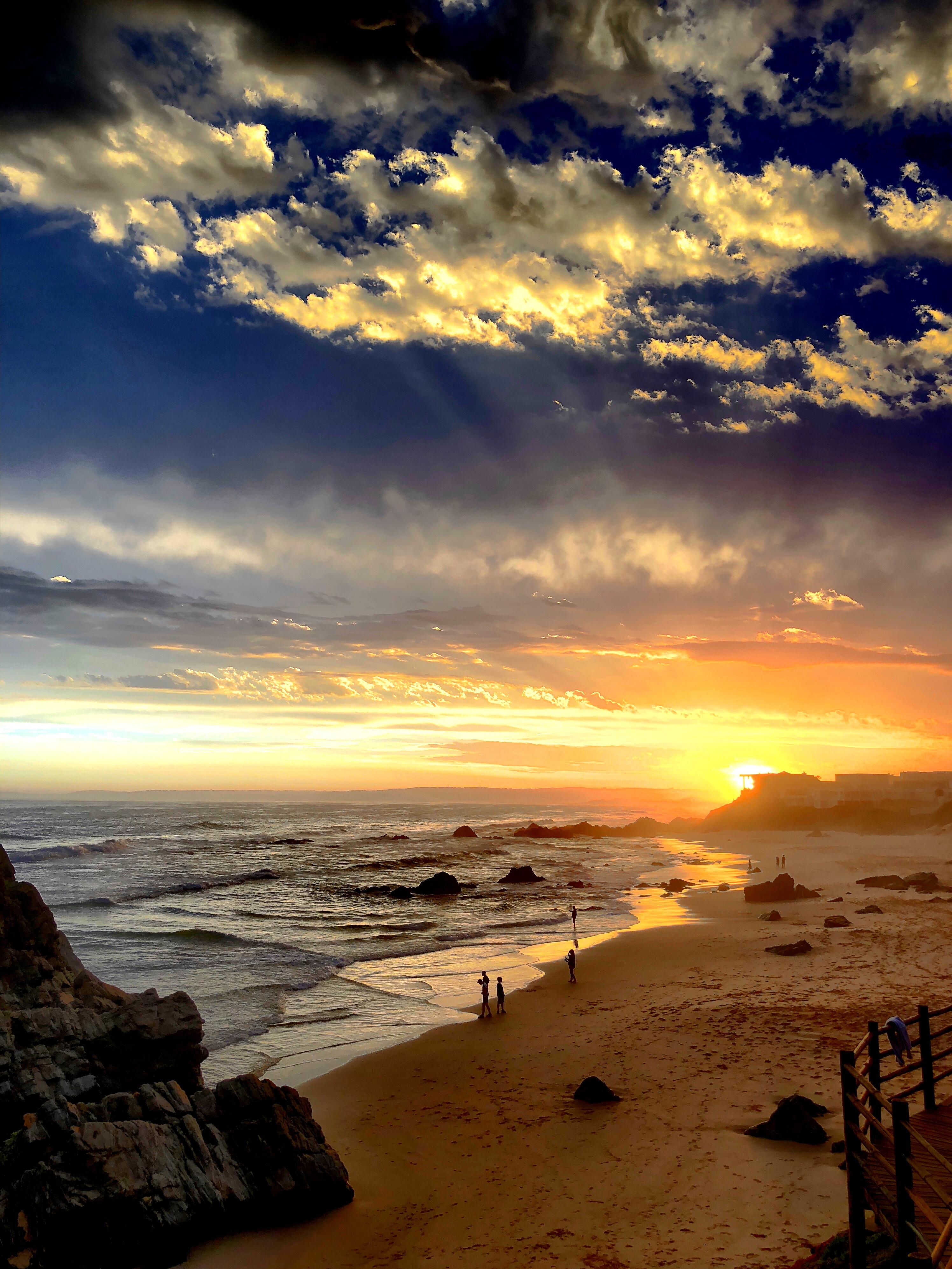 Sonnenuntergang bei Enrico, Plettenberg Bay, Südafrika