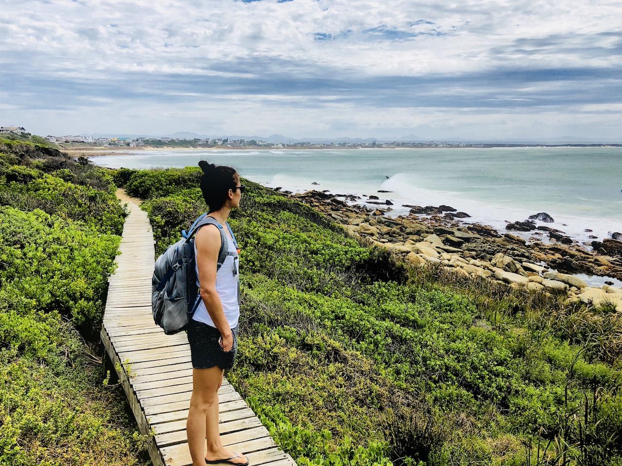 Harbour Walk von St. Francis Bay bis St. Francis Harbour, Südafrika