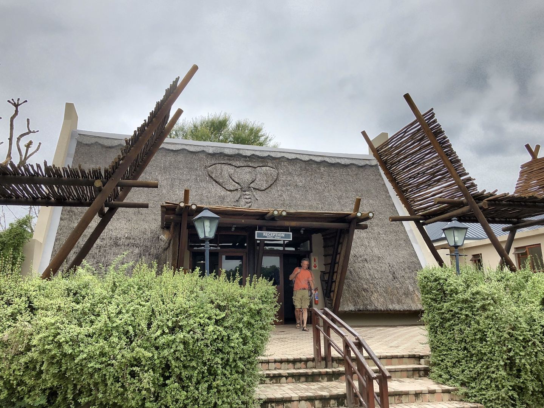 Eingang Addo Park, Südafrika