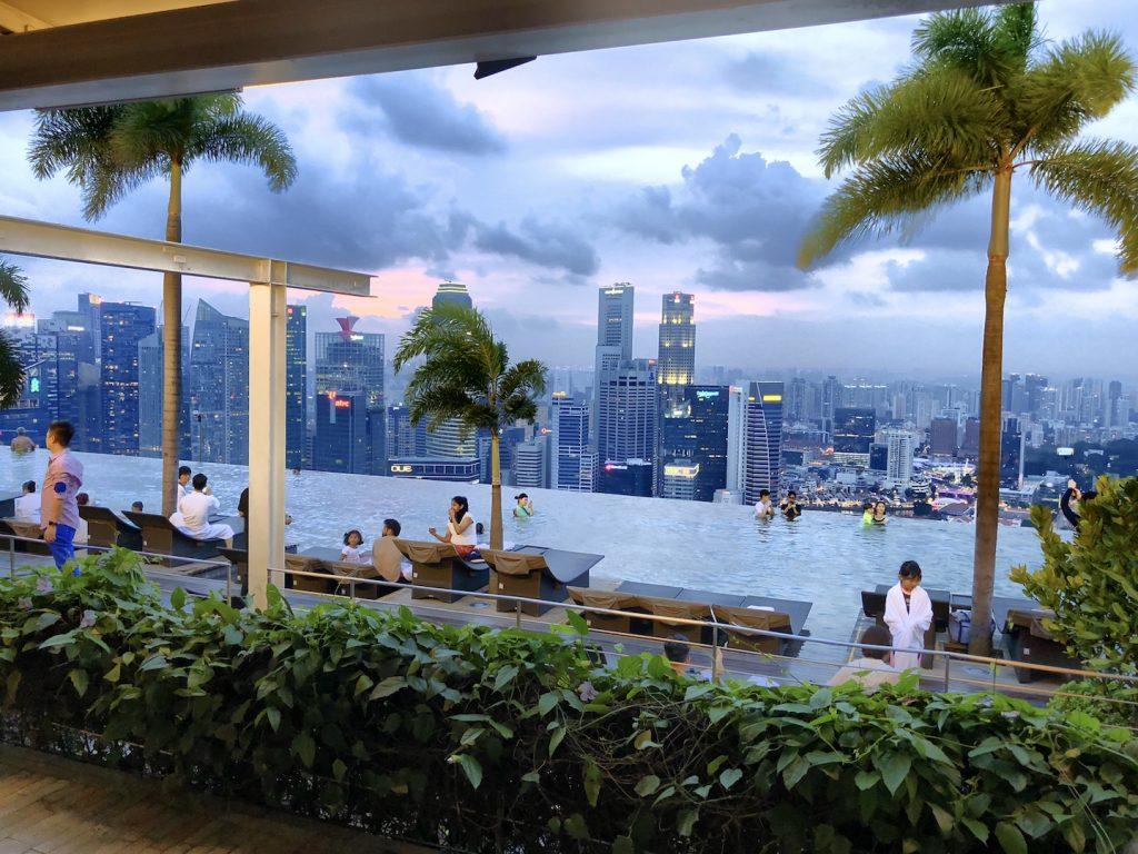 At the Top - Marina Bay Sands, Singapur