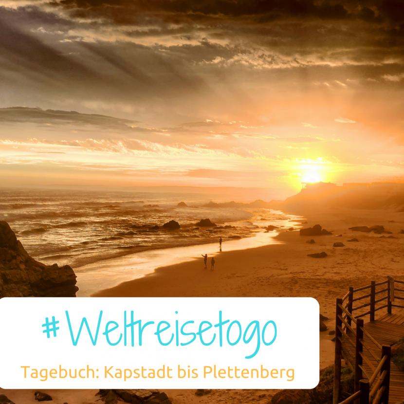 Sonnenuntergang Plettenberg bay