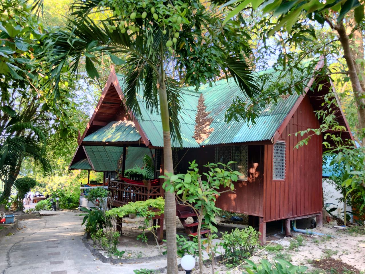 Unser Bungalow im Koh Tao Royal Resort