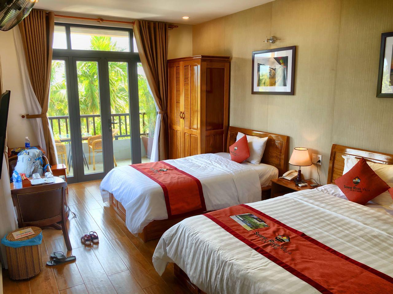 Familienzimmer in der Serena River Villa, Hoi An, Vietnam