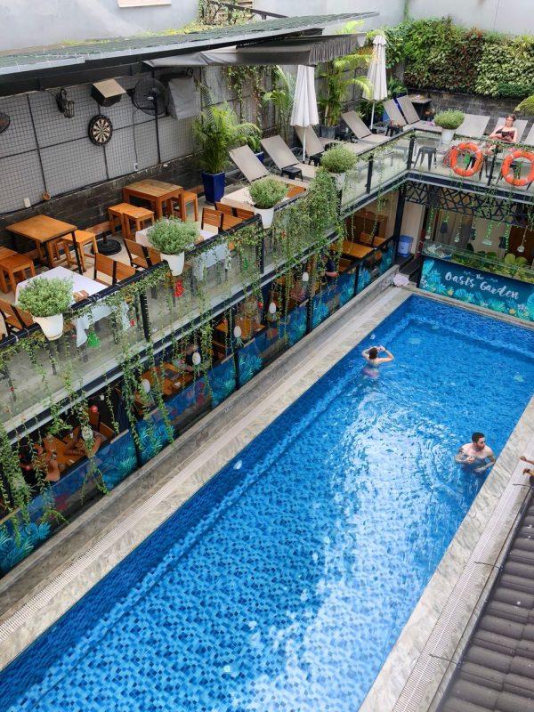Pool im Beautiful Saigon Boutique Hotel, Ho Chi Minh, Vietnam