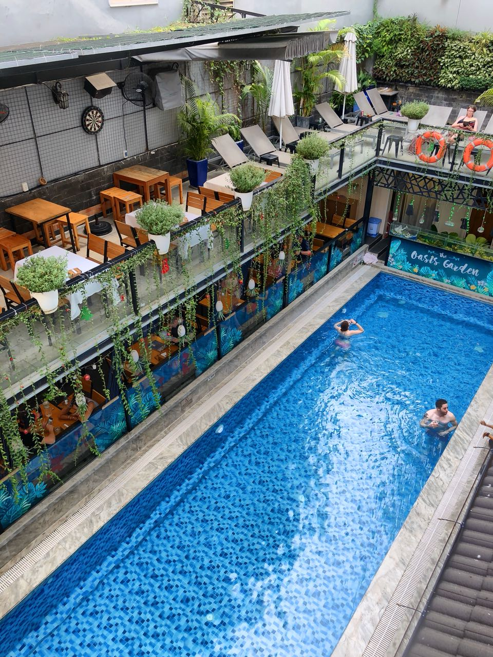 Pool im Beautiful Saigon Boutique Hotel, Ho Chi Minh, Vietnam