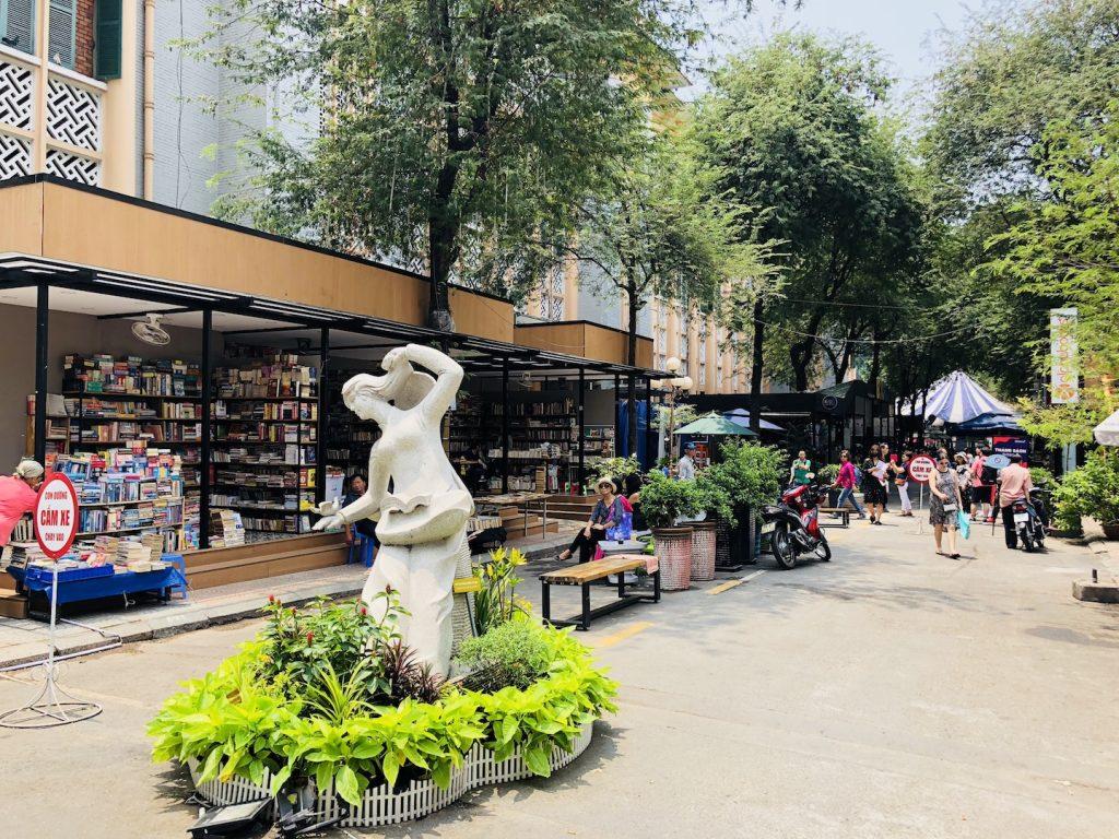 Bücherstraße, Ho Chi Minh, Vietnam