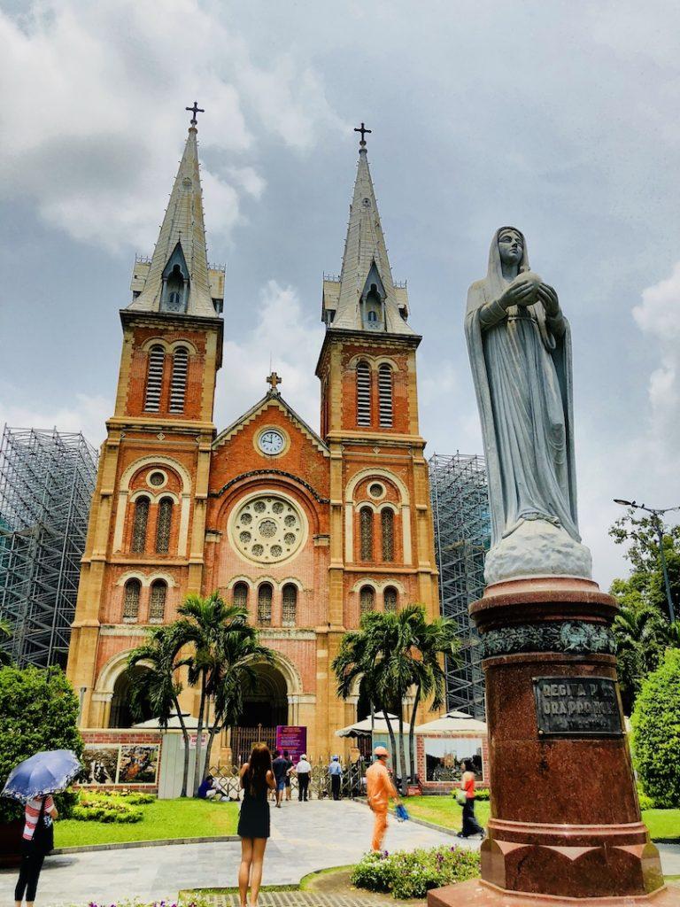 Kathedrale Notre Dame, Ho Chi Minh, Vietnam