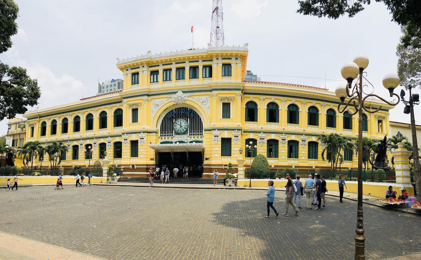 Hauptpostamt, Ho Chi Minh, Vietnam